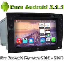 Pure Android 5.1.1 Car DVD for Renault Megane 2003 2004 2005 2006 2007 2008 2009 2010 With Quad Core 2G ROM Bluetooth(China)
