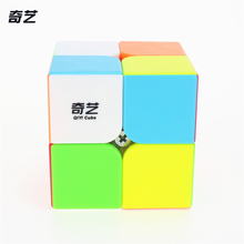 QiYi QI DI S 2x2x2 Magic Cube Competition Speed Puzzle Cubes Toys For Children Kids cubo stickerless Matte cube