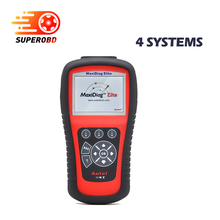 Autel Maxidiag Elite MD802 4 IN 1 Code Scanner 100% Original MD 802 (MD701+MD702+MD703+MD704) 4 System + DS Model DHL Free Ship
