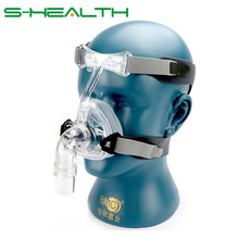 BMC NM2 Nasal Mask With Headgear And Head pad S/M/L Different Size Suitable For CPAP Machine Oxygenerator Connect Hose And Face