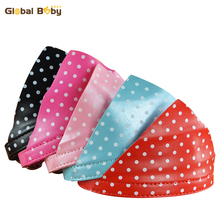 Brand Global Baby Fashion Pu Leather Pet Dog Cat Collar with Bandana