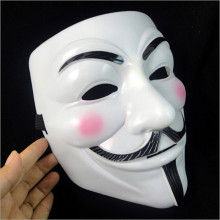 Accessory macka mascaras halloween The V for Vendetta Party Cosplay masque Mask Anonymous Guy Fawkes Fancy Dress Adult Costume(China)