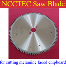 12'' 72 teeth 305mm Carbide saw blade with Silencer holes for cutting melamine faced chipboard FREE Shipping | Left-Right teeth(China)
