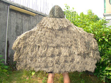 Military burlap ghillie suit ghillie poncho desert camouflage hunting CS wargame photography airsoft paintball