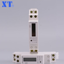 DDS5188 5(32) 230V 50HZ Single phase Din rail KWH Watt hour din-rail energy meter tester monitor checker XTM18SA(China)