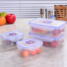 1PCS Kitchen Food Container Big Size Food Preservation Box Plastic PP Microwave Refrigerator Storage Box D3(China)