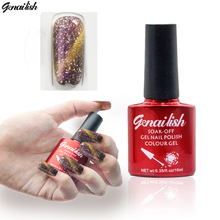 24 Colors Gorgeous Magnetic Cat Eye Gel Nail Gel Polish Long-lasting UV Fingernail Gel Soak-off LED UV Color Gel 10ML/PCS-GQ(China)