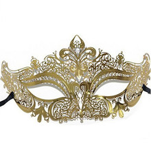 Sequin Diamonds Easter Masks Elegant Metal Laser Venetian Ball Masquerade Luxury Sexy Mysterious Lady Ball Mask