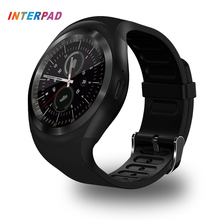 Interpad Smart Watch Android Wear Phone Call Wristwatch Sport Fitness Tracker Support SIM TF Card For Huawei LG Sony Smartwatch