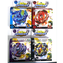 8 Stlyes New Spinning Top Beyblade BURST With Launcher And Original Box Metal Plastic Fusion 4D Gift Toys For Children(China)
