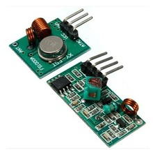 Best prices 1 pair (2pcs)433Mhz RF transmitter and receiver link kit