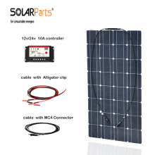 Boguang 100w Monocrystalline silicon solar panel cell solar system 10A controller cable MC4 connector for 12v battery charge