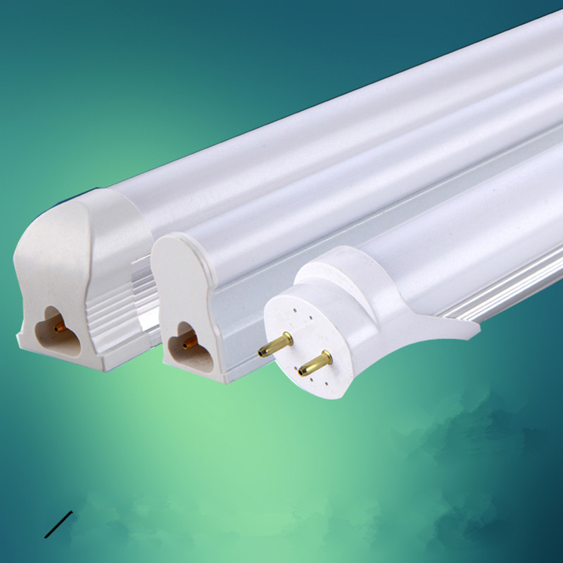 LED BULBS TUBES T8 integrated tube 9w 600mm 85-265v Transparent Clear cover milky cover free shipping 2ft white/warmwhite LAMP<br><br>Aliexpress