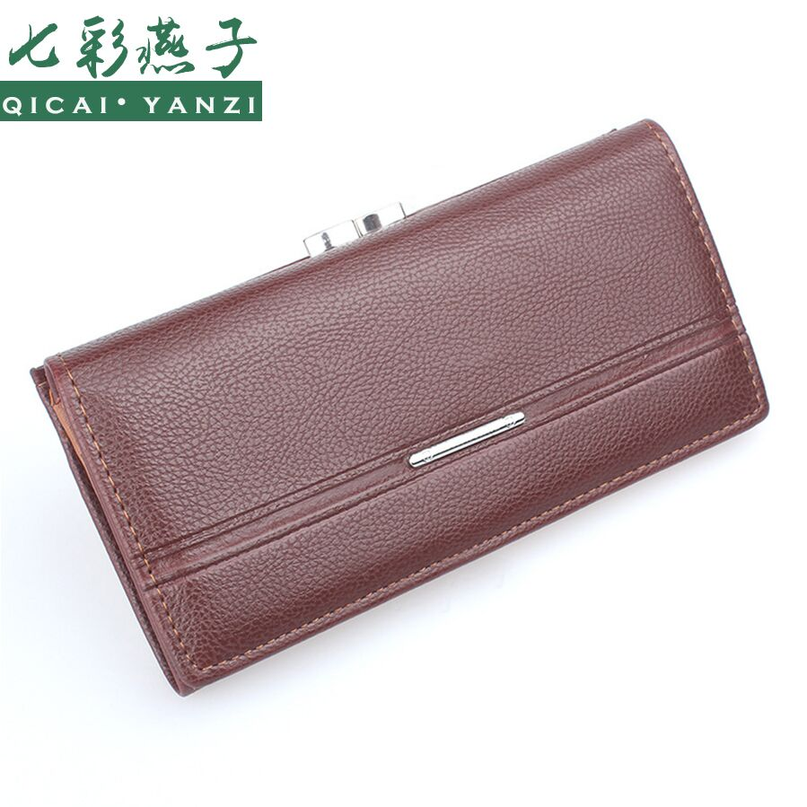 2017 Women Purse Wallet Lady PU Leather Handbag Clutch Zip Card Holder Wallets Top Quality Free Shipping portefeuille femme N527<br><br>Aliexpress