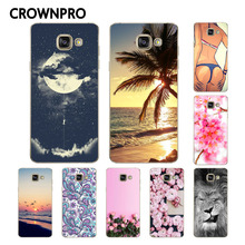 Buy CROWNPRO Soft TPU FOR Coque Samsung Galaxy A5 2016 Case Cover A510F A510 Phone Back Protective FOR Funda Samsung A5 2016 Case for $1.12 in AliExpress store