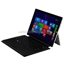 Wireless Bluetooth Slim Keyboard Touchpad for Microsoft Surface Pro 3/4 Tablet #H029#(China)
