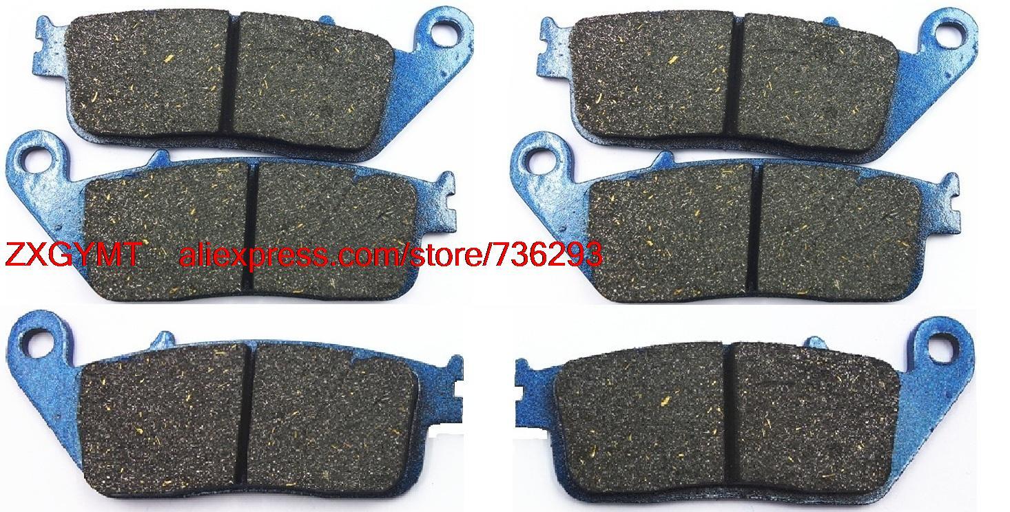 Motorcycle Semi-Metallic Brake Shoe Pads Set fit HONDA GL1500 GL 1500 Valkyrie 1996 &amp; up<br><br>Aliexpress