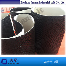 rubber ribbed sanding machine conveyor belt(China)