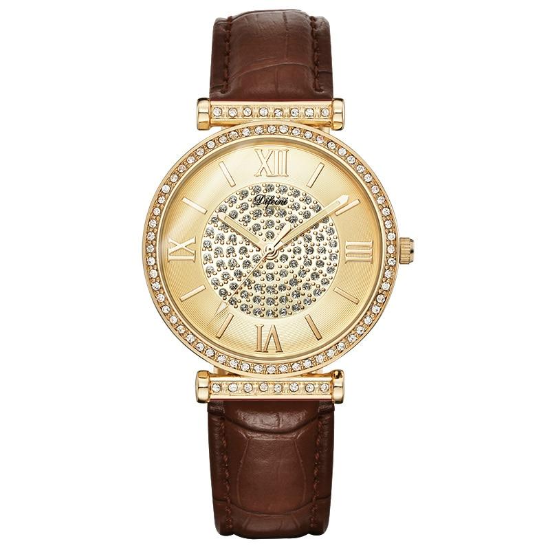 Women Watches Quartz Watch Women Wrist Watches Ladies Gold Wristwatches Female Clock Quartz-Watch Relogio Feminino Montre Femme