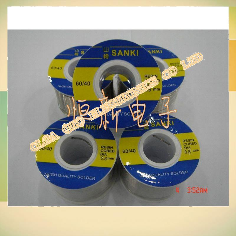 The original  Yamazaki SANKI solder wire diameter 0.8MM 250 60/40 high gloss solder<br>