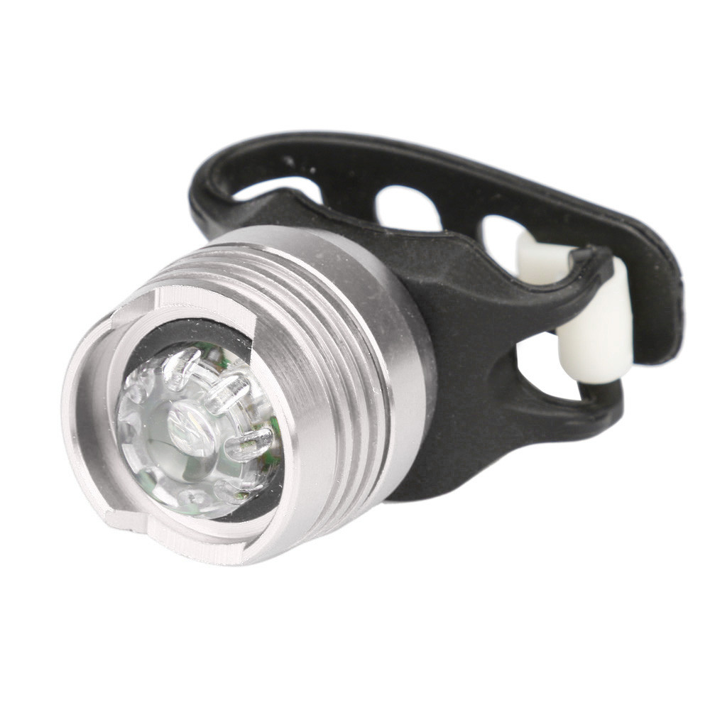 5 LED Bike Bicycle Cycling Front Head Light Flashlight Tail Rear warning Lamp MN
