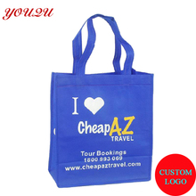 custom reusable shopping bag non woven material with size 30*40*10 cm colors for choice