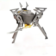 2017 New Gas Burners Titanium Stove Camping Cook Backpack Stove Cooking Outdoor Camping Hiking Butane Stove Fire Maple FMS-100T(China)