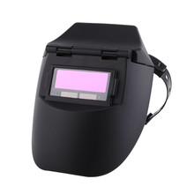 New Welding Helmet/Mask of Auto Darkening Tig Mig Welder Welding Mask Lenses Solar Powered Cap For Soldering(China)
