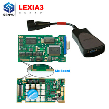 Lexia-3 V25 Lexia 3 PP2000 V48 For Citroen/Peugeot with 921815C Full Chip Diagnostic tool with Diagbox V7.83 Update By CD