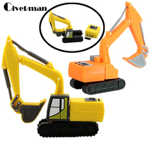 usb flash disk 4gb 8gb 16gb 32gb 64gb Excavators truck cartoon usb flash drive usb memory pen driver gifts gadget(China)