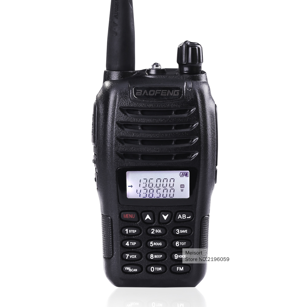 Baofeng UV-B6 Dual Band VHF UHF 5W 99 Channels FM PMR Walkie-Talkie Frequency Portable Radio Ham Communicator HF Transceiver(China (Mainland))
