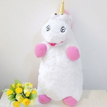 16.5 inch/42cm Despicable Me Fluffy Unicorn Plush Toys Juguetes Stuffed Toys Figure Doll For Kids Christmas Gift