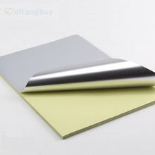 20sheets A4 Matte Silver PET Self-adhesive Paper Waterproof Label Sticker Paper DIY Craft(China)