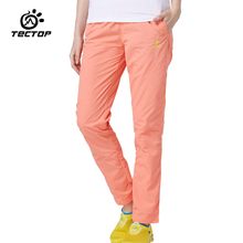 TECTOP PS5018 Spring and Summer Outdoor Quick Dry Sport Pants,Sold Elastic Polyester Women Pants