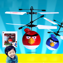 Induction RC Flying Birds Drone Remote Control RC Helicopte Built-in Shinning LED Lighting for Kids Teenagers Colorful Flyings