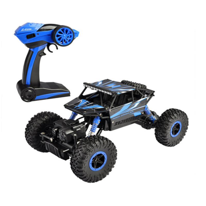 VICIVIYA EU RC Car 2.4GHz 4WD Rock Crawler Rally Car 1:18 Scale Truck Racing Car Off-road Vehicle Remote Control High Speed ~(China (Mainland))
