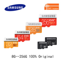 SAMSUNG Micro SD Card 100Mb/s Memory Card 256GB 128GB 64GB 32GB Flash TF Class10 U3/U1 Microsd Card for Phone with SDHC SDXC(China)