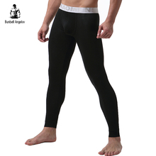 Underwear Winter Mens Warm Thermal Underwear Modal Long Johns Underpants Letter Thermal Underwear For Men 2017(China)