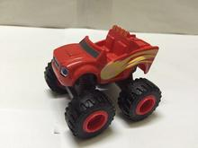 6pcs/set Blaze Monster Machines Toys Vehicle Car Pickle Zeg Darrington Crusher Stripes no  Box BlazeMonster A438
