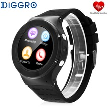Diggro S99 Android5.1 Smartwatch Phone Support SIM Card 3G Wifi Bluetooth Fitness Tracker with Camera Smart Watch for Android(China)