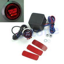 Kris 12V Car Engine Start Push Button Switch Ignition Starter Kit Red LED Universal(China)