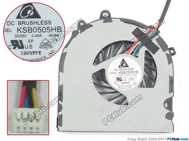 Delta Electronics KSB0505HB BH46 DC 5V 0.40A Server Laptop fan<br>