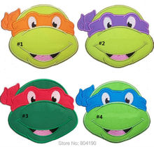 "6.1"" LARGE Teenage Mutant Ninja Turtles Patch Applique MOVIE Lovely Boy Girls Dress Embroidered Patch Logo Badge(China)"