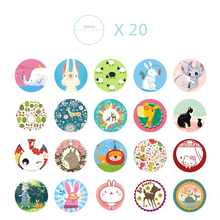 38pcs/set Notebook Sticker Anime Stickers Funny Cartoon Animal Cat Stickers Cake Decoration Cute For Notebook For Laptop