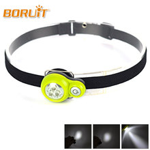 BRORUIT Mini 800 Lumens High power 3 modes Head lamp Head Torch Headlamp Flashlight 4 hour Working time Led Lamp+ Fast shipping