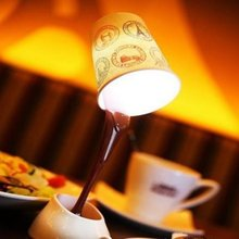 NFLC HeroNeo Novelty DIY LED Table Lamp Home Romantic Pour Coffee Usb Battery Night Light(China)