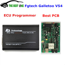 Full Chip 2017 Newest Fgtech Galletto 4 Master V54 ECU Chip Tuning tool FG Tech V 54 Unlocked Add OBD BDM Function Free Shipping