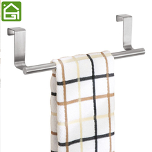 Stainless Steel Kitchen Cupboard Hanger Cabinet Door Towel Stand Rack Chest Hanging Shelf for Storage Sundries(China)