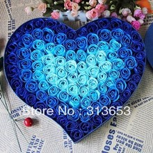 new arrival 100 pcs/set soap rose flower/Soap flower birthday gift /wedding decoration/ free shipping