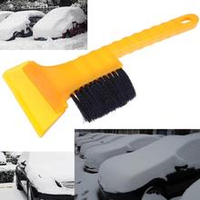 VODOOL Auto Ice Snow Defrost Brush Removal Vehicle Window Cleaner Long-handled Ice Scraper Car Wash Brush Dust Cleaning Tool(China)